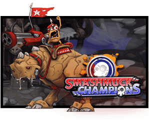 Smashmuck Champions logo and screenshot